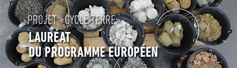 Projet Cycle Terre lauréat de l'appel à projet                                 européen Actions Innovtarices Urbaines