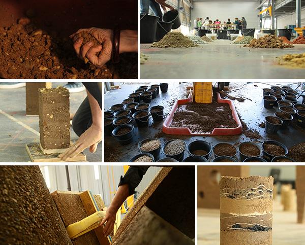 Détails de l'installation - Formation professionnelle                     - L'art du pisé - amàco
