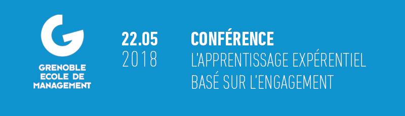 Conférence de Laetitia Fontaine, directrice d'amàco                                 sur l'apprentissage expérientiel basé sur l'engagement