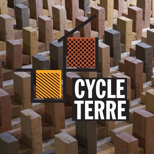 Cycle Terre, projet d'économie circulaire dont amàco                     est partenaire